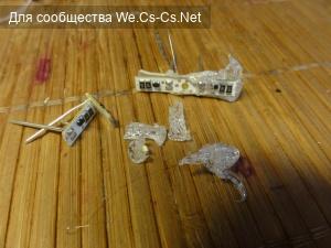 Плачевные результаты опыта по отдиранию пластика