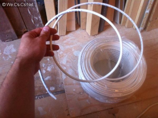 Вытягиваем кабель