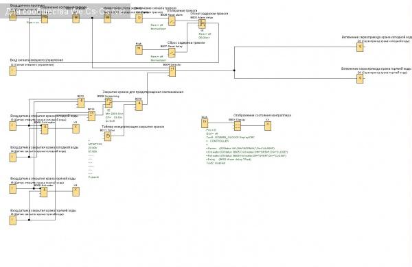 Схема контроллера протечек