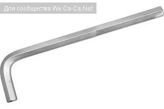 имбусовый ключ в качестве насадки на шуруповёрт для вязки арматуры